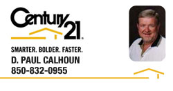 D. Paul Calhoun | REALTOR® | Panama City, Florida | Century 21 Commander Realty